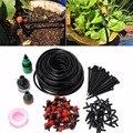10 м/25 м DIY автоматический микро-капельный Комплект для орошения  регулируемый домашний садовый поливочный шланг   наборы умных цветочных инс...