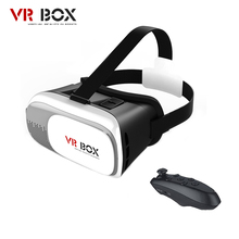 VR BUCINUM VR BOX 2.0 3D VR Glasses Virtual Reality Headset for 3.5-6.0″ Smartphones + Bluetooth Controller Shipment from Russia