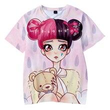 LUCKYFRIDAYF CRY BABY print 3D Fashion Hip Hop Short Sleeve Cool T-shirts  Men/Women Summer TShirts Tops Tee