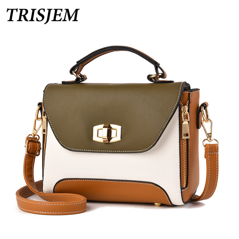 все цены на Women Handbags Fashion Women Messenger Bags Flap Crossbody Bag Hasp Cute Shoulder Bolsa High Quality Small Handbags
