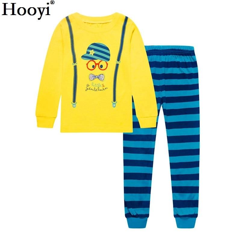 Robot Children Pajamas Suit Boys Pijama Sleepwear Baby Boy Clothing Bottom T-Shirts Kids Pyjamas Home Sport Suit Clothes 4