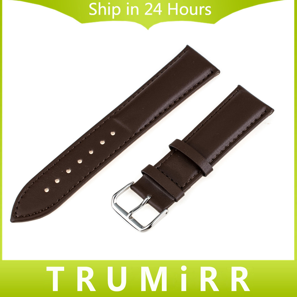 Genuine Leather Watch Band 16mm 18mm 20mm 22mm 24mm for Tissot 1853 T035 T050 PRC200 T055 T097 Wrist Strap Bracelet Black Brown curved end genuine leather watchband for tissot 1853 watch band butterfly clasp strap wrist bracelet black brown 22mm 23mm 24mm