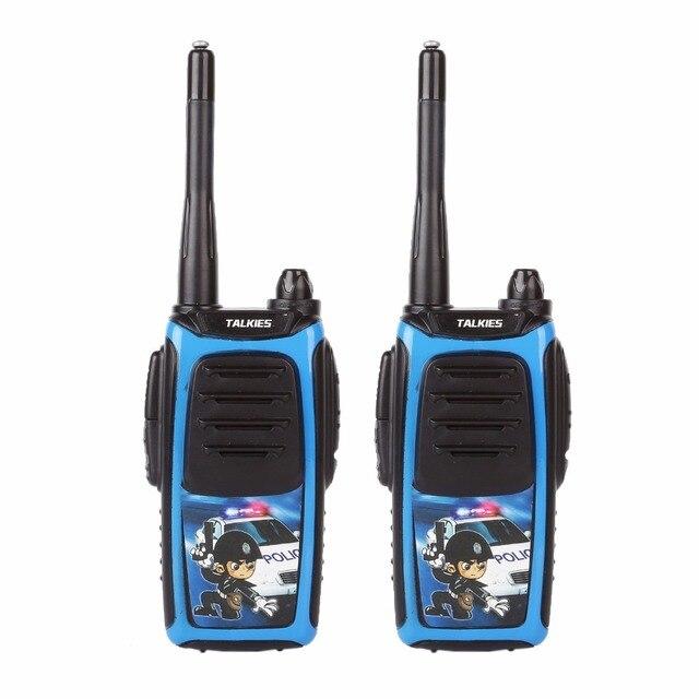2 Pack 73hams K-5 Durable Children Walkie Talkie Handheld Kids Two Way Radio