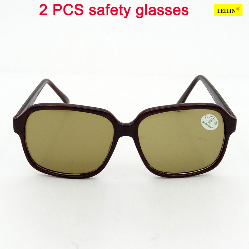 2 PCS The safety glasses eye protection, High Quality PC parts relate laser goggles The brace Ultraviolet durable mar seguridad kcchstar the eye of god high quality 316 titanium steel necklaces golden blue