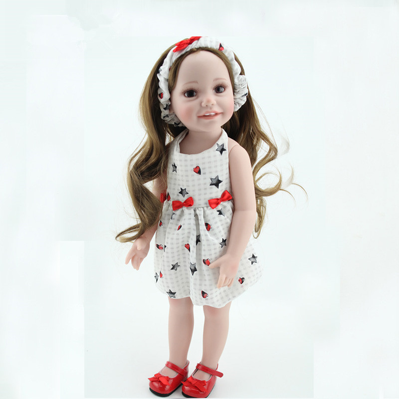 ФОТО American Girl Doll Bebe Silicone Reborn Baby Doll Simulation Dolls Little Girl Boy Birthday Gift Early Education Dolls Juguetes