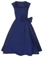 Vestidos para invitados de boda azul rojo negro reino unido estilo vintage una línea de ropa 5xl 4xl más el tamaño 20 22 en línea compras
