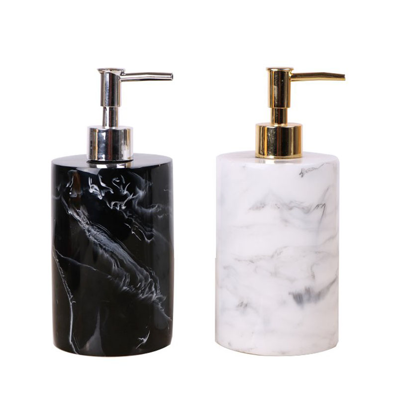 500ML Resin Emulsion Bottles Creative Latex Bottles Liquid Soap Dispensers Bathroom Set Home Decoration Bathroom Accessories