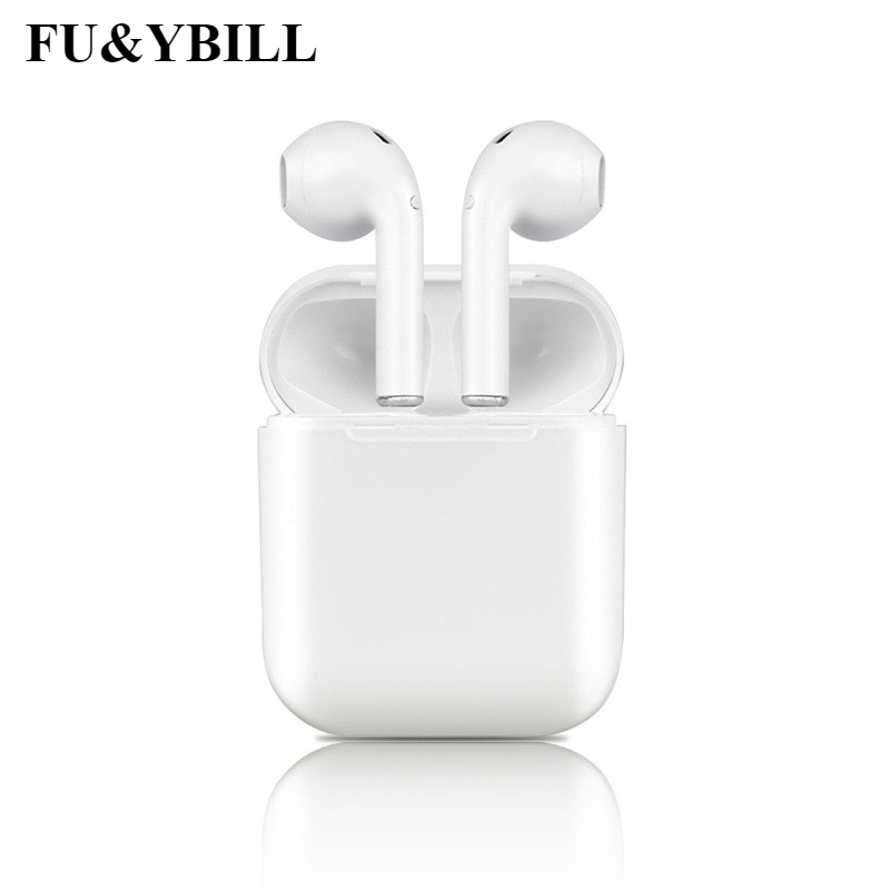 Fu&y bill I9S Wireless Earphone Bluetooth Headset In-Ear Invisible Earbud Headphone for IPhone 8 7 Plus 7 6 6s and Android PK I7 headset earphone in ear headphone earbud control with mic for iphone 6 6s samsung galaxy s6 xiaomi earphone smartphone