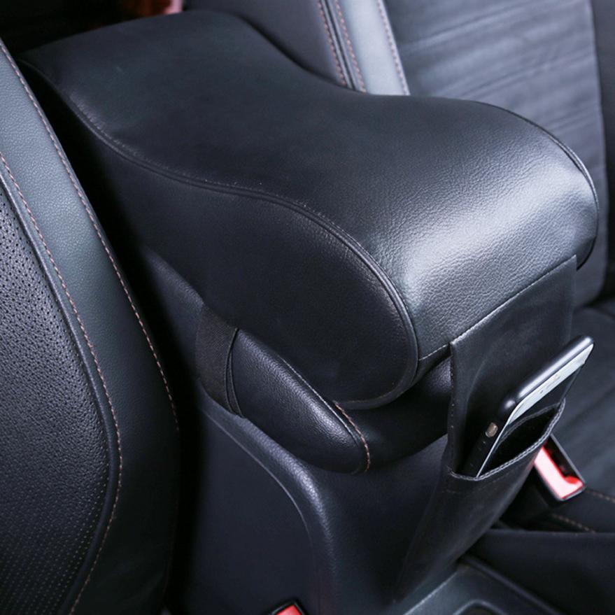 Carprie Чехлы на сиденья кожа Автомобильный Центр коробка подлокотник площадку Подушки Чехлы для мангала консоли мягкий прочный 1 шт. dec7