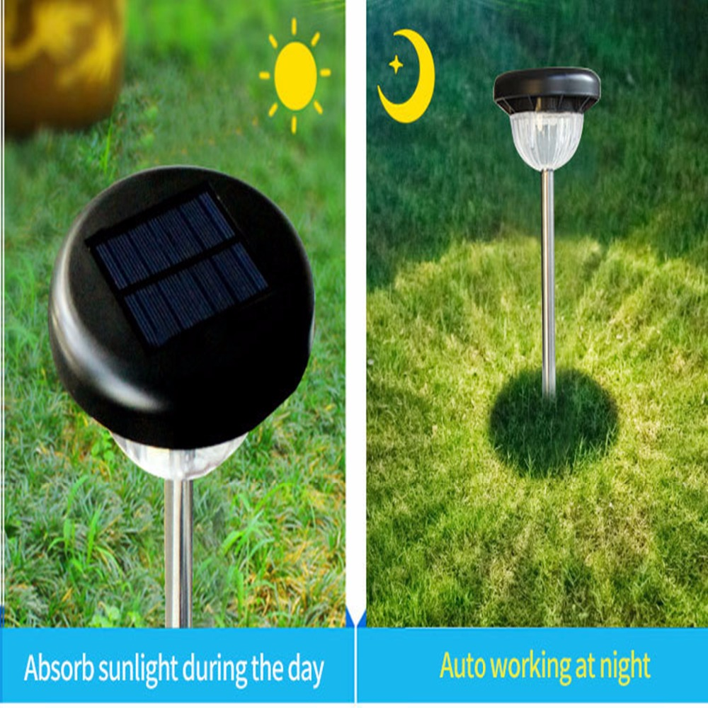 Waterproof and durable Outdoor Lights LED Solar Sensor Lights Inserted Landscaping Lawn Laser Light outdoor light fixtures