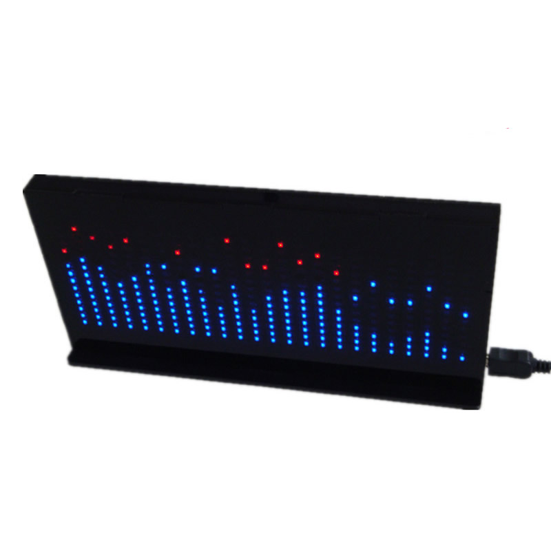 Novelty & Gag Toys Cheap Price Single-chip Optical Cube Kit Electronic Diy Production Parts Led Music Spectrum 21-segment Audio Light Column