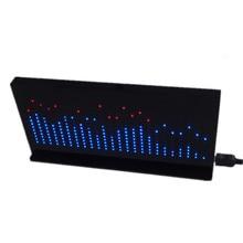 Professional Music Spectrum Display Screen LED Level Indicator Electronically Making DIY Optical Cube Kit