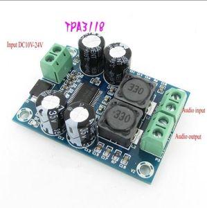 Image 2 - DC 12V 24V TPA3118 BTL 60W Mono Bordo Amplificatore di Potenza Audio Amp Modulo Digitale