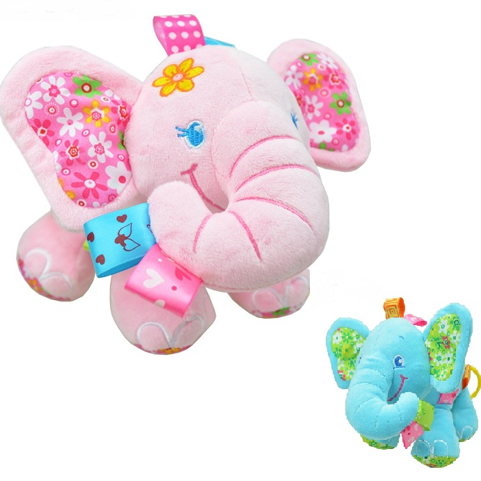 Rongzou Musical Soft Bed Bells Toys Baby Rattles Mobiles