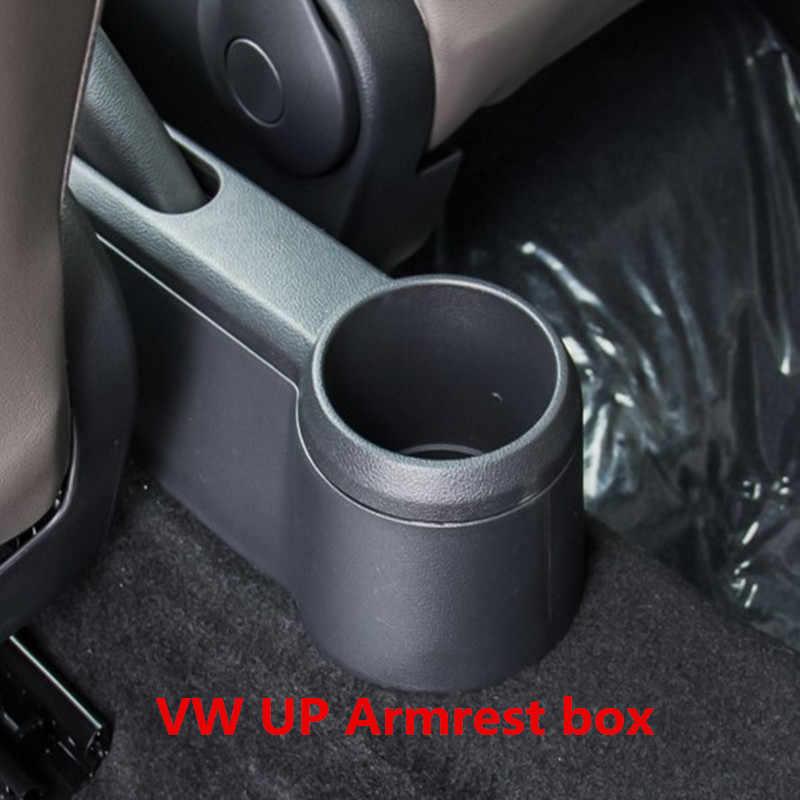 SENYAZON Armrest Box Central Store Content Box for VW UP Interior Armrest Storage Car-Styling Accessories Parts 2009-2018 Beige