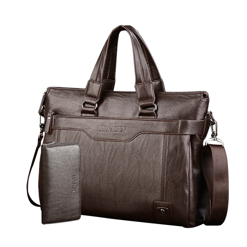 Business Briefcase Diagonal Bag Men Bag Letter Handbag Computer Bag Briefcase Men's Shoulder Bag