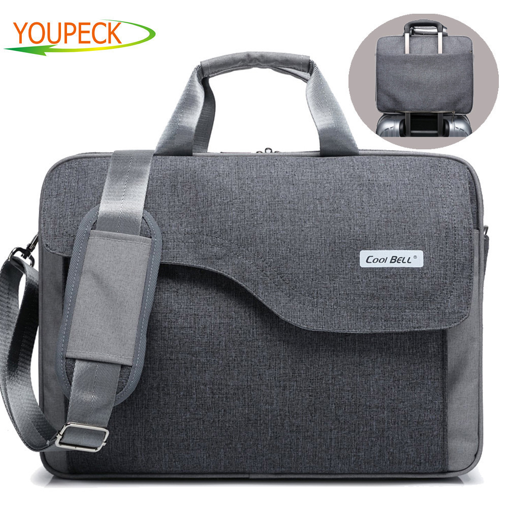 Brand Laptop bag 17.3 17 15.6 15 inch computer bags fashion handbags Women shoulder Messenger notebook bag men women briefcase цена