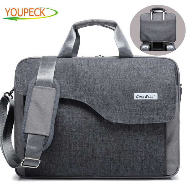 Brand Laptop bag 17.3 17 15.6 15 inch computer bags fashion handbags Women  shoulder Messenger notebook bag men women briefcase 5f902ce49