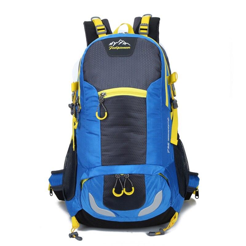 Sentir PIONEER sac à dos en Nylon imperméable à l'eau hommes femmes Sport école sacs à dos Camping randonnée sac à dos Ski sac à dos escalade