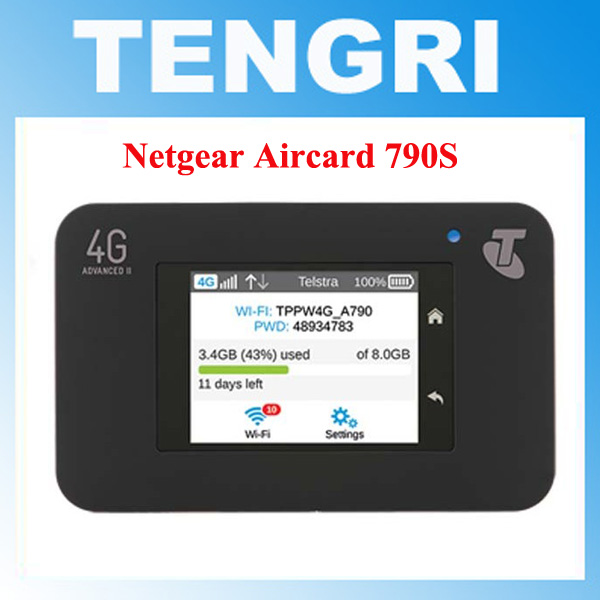 US $119 1 |Unlocked Netgear Aircard 790s (AC790S) 300Mbps 4G Mobile Hotspot  wifi Router (4G in Asia, Africa,America,Europe)-in Modems from Computer &