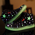 Super Cool Colorful Men Luminous Light Up Star Led Shoes Femme Laser Online or Flashlight Chaussure Trainers for Adults