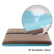 Новинка, подушка с эффектом памяти для поясницы, облегчающая боль, подушка для офисного стула, Ортопедическая подушка для кресла, 4 цвета