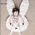 Ins nova adorável coelho cobertor crawling carpet piso tapetes de jogo do bebê crianças decoração do quarto tapetes de jogo rastejando mat tamanho 106*68 centímetros