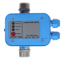 Water Pump Pressure Controller 220V Automatic Electronic Electric Switch ON OFF Easy Operate Maintains Pressure & Flow IP65