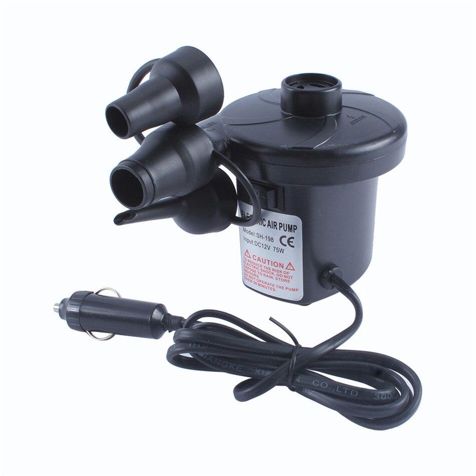 car Electric Cigarette <font><b>Air</b></font> Pump 3800Pa 380L/min for Beds Mattresses Toys Car Auto Dual inflatable boat <font><b>Air</b></font> Pump <font><b>Air</b></font> compressor