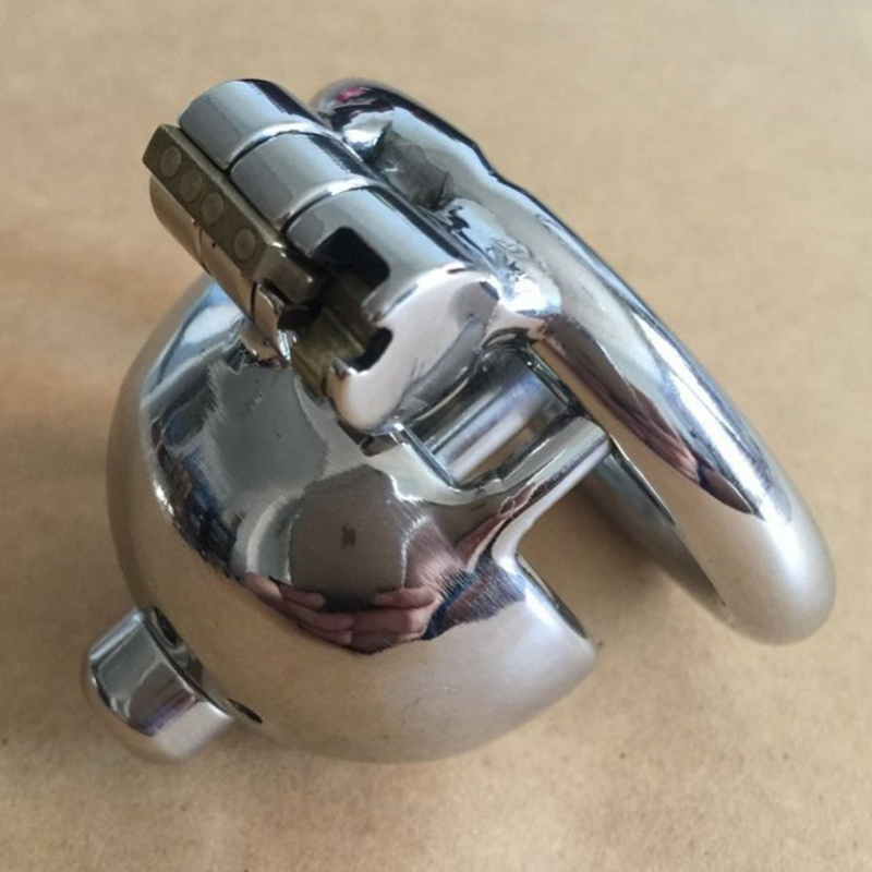 High quality stainless steel metal cock cage male chastity device with urethral penis plugs BDSM sex toys for men bird locks