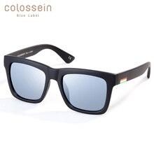 COLOSSEIN BLUE LABEL Summer Fashion Sunglasses Women High Quality Polarized Lens Glasses Hot Sale Classic Street Style Eyewear