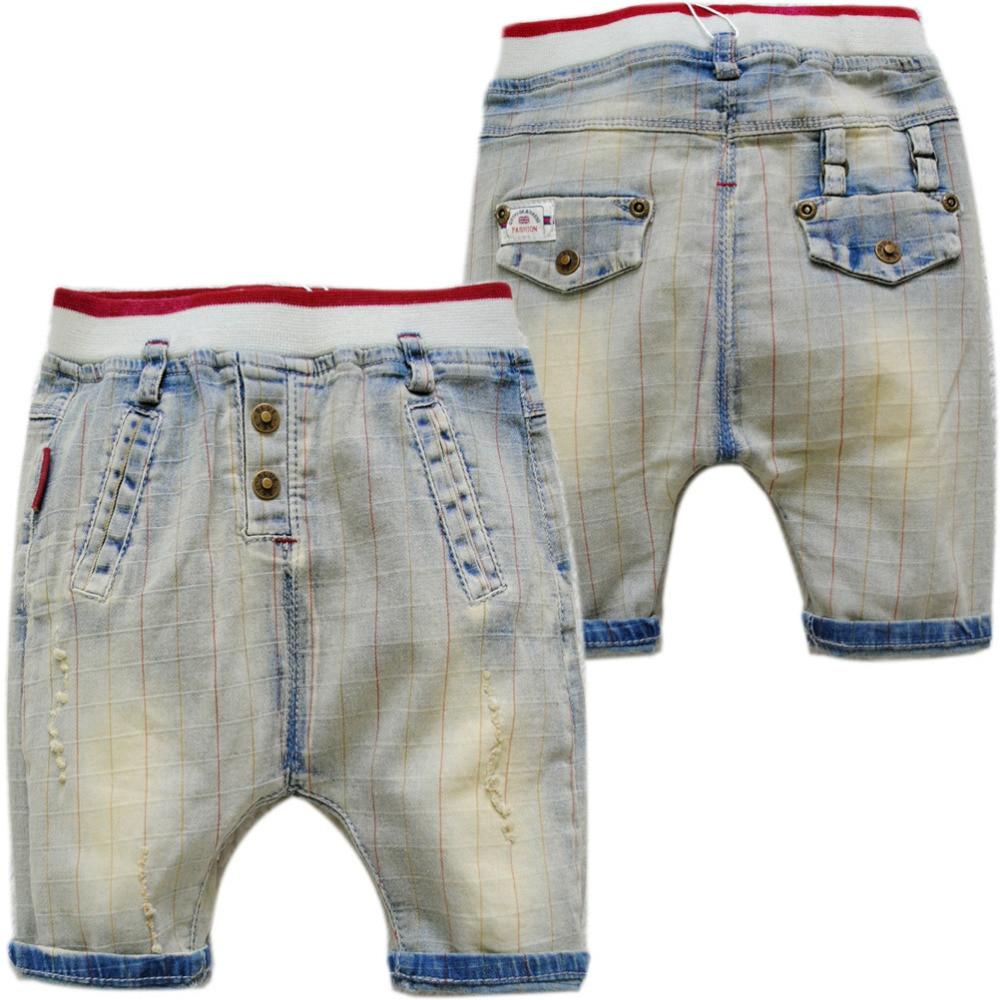 4034 léto malý harem 50% délka dětské kraťasy letní měkké - Oblečení pro miminka
