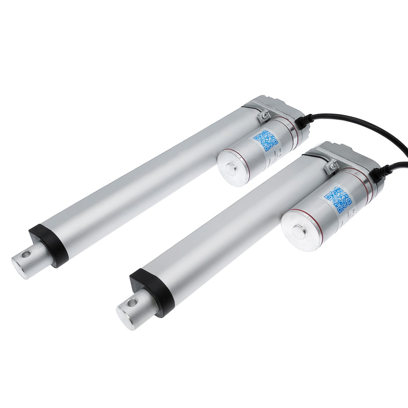 Image 2 - Electric Linear Actuator 200mm 150mm 12V/24V DC Motor Stroke Linear motor Controller 100/200/300/500/750/800/900/1100/1300/1500N-in DC Motor from Home Improvement