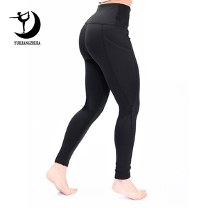 Image 1 - 2019 Fashion high waist Elastic leggings for fitness female new arrivals sports legging workout plus size stretch pants Legins
