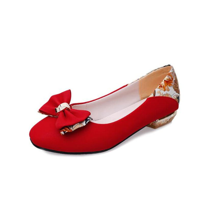 woman shoes Classical Simple Design Spring And Summer With The New single-breasted Korean Side Bow Head  Shoes .LSS-751 2016 spring and summer free shipping red new fashion design shoes african women print rt 3