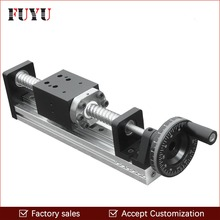 FLS40 Free Shipping CNC Manual Driven Ball Screw Linear Rail Guide Stage Slide for Linear Motion Actuator Position System цена 2017