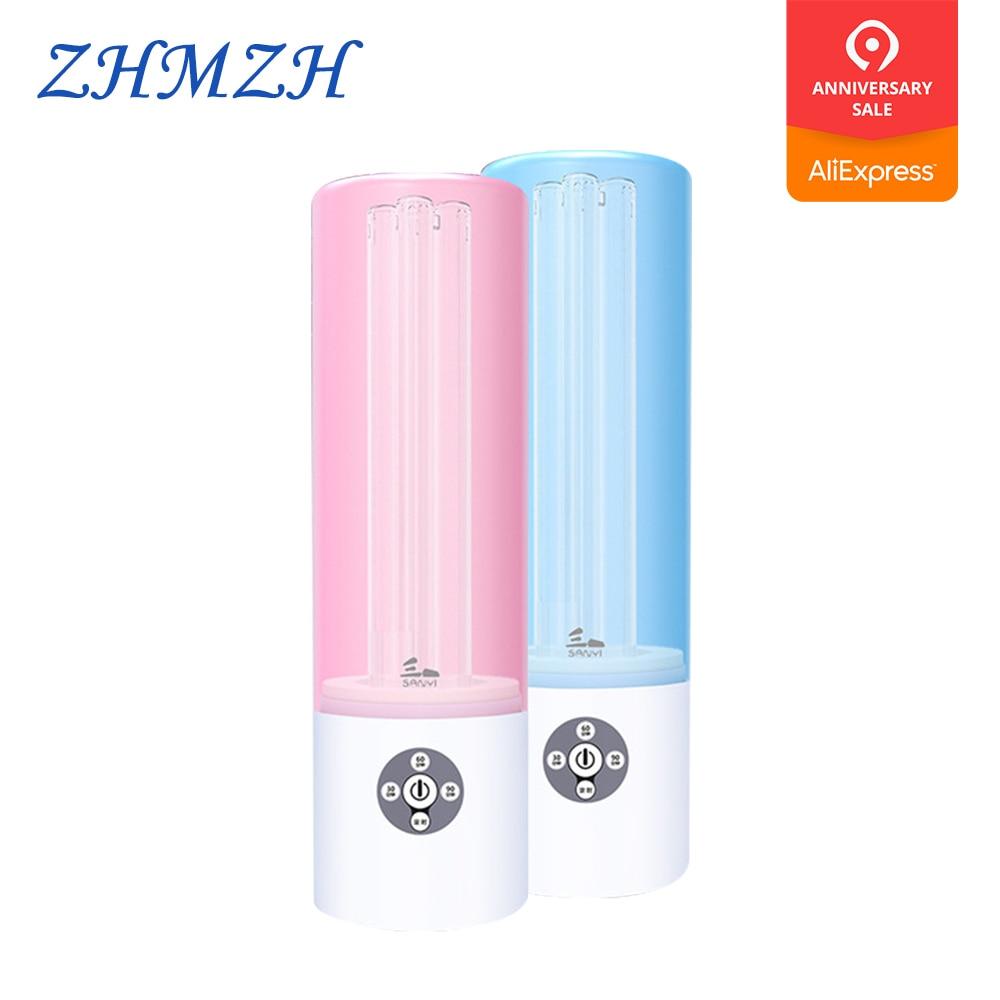 220 V Lampade A Raggi Ultravioletti 55 W Disinfezione Delle Famiglie Lampada Battericida Luce Luci di Alta Ozono Germicida UV Doppio Sterilizzazione