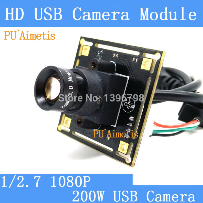 PU`Aimetis Mini Surveillance camera 1080P Full Hd MJPEG 30fps High Speed 3MP 8mm Lens CCTV Android Linux UVC USB Camera Module industrial full hd 1080p mjpeg