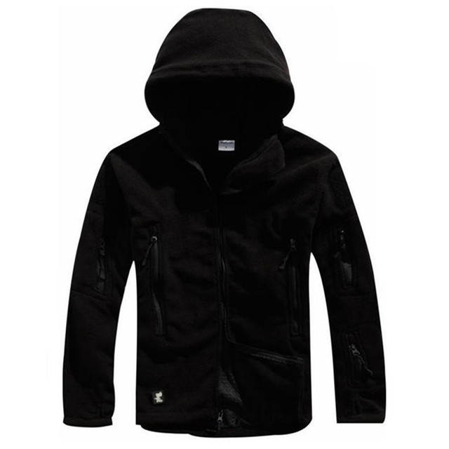 Winter Tactical Jacket Military Uniform Soft Shell Fleece Hoody Jacket Men Thermal Clothing Casual Hoodies 1