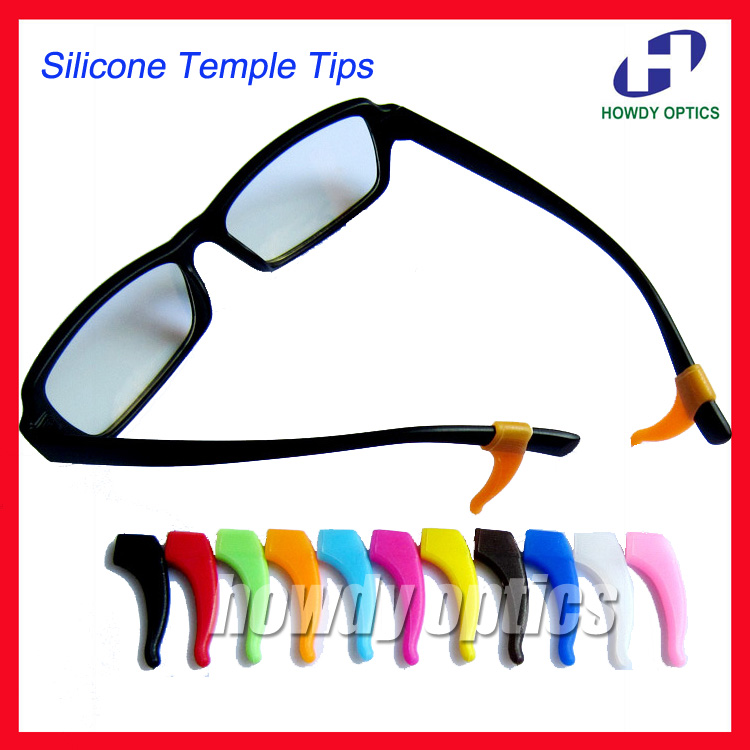 20prs High quality eyeglass eyewear glasses Anti Slip silicone ear hook temple tip holder glasses accessories soft & comfortable