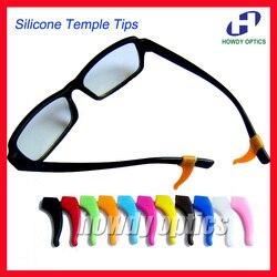 20prs haute qualité lunettes lunettes lunettes anti-dérapant silicone oreille crochet temple pointe titulaire lunettes accessoires doux et confortable