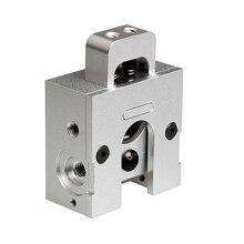 Оптовая 3D принтер бульдог пульт дистанционного управления непосредственно совместим с MK8 экструдер/E3D/J-h/reprap печати полный металл алюминий