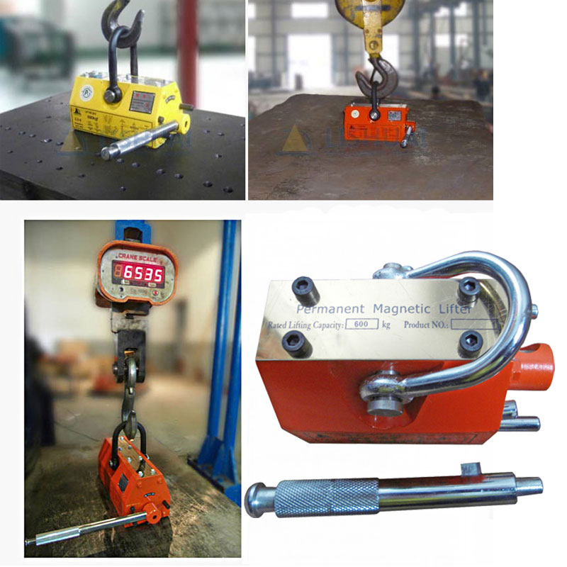 0.6T Permanent Magnetic Lifter 600 kgPML Magnetic Crane Metal Steel Plate Lifting Tool Heavy Duty Hoist Lifting New ce certified 100kg permanent magnetic lifter steel plate hoist lifting crane free shipping