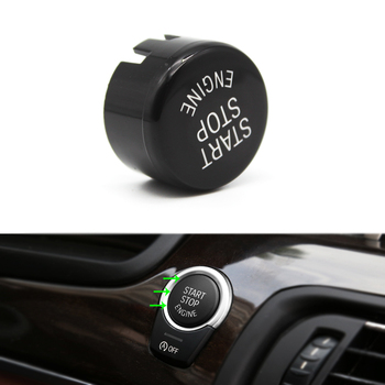 1x Engine Start Stop Switch Button Cover with OFF button For BMW 1 2 3 4 5 6 7 Series X1 X3 X4 X5 X6 F10 F15 F25 F26 F30 F48 G30 image