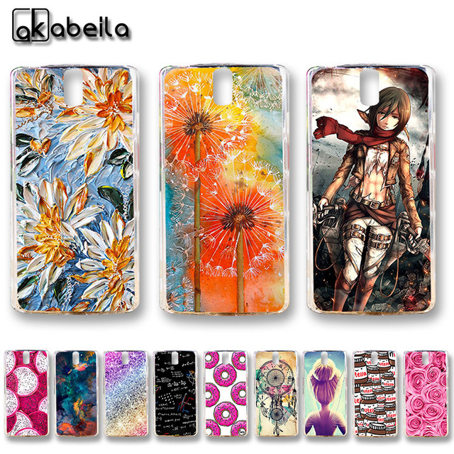 AKABEILA Soft TPU Plastic Phone Cases For OnePlus One OnePlus1 OnePlus A0001 A1000 A1001 5.5 inch Covers Nutella Flamingo Tetris