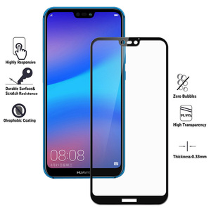Image 2 - 9H Protective Glass For Huawei P40 P30 P20 Lite Pro Screen Protector Film For Huawei P20 Pro P 20 P20 Lite Tempered Glass HD