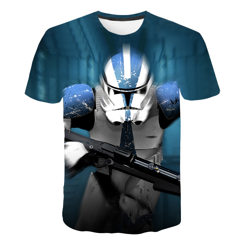 Hot Sales Newest 3D Printed star wars t shirt Fashion Men Women Summer Short Sleeve Funny Top Tees Fashion Casual clothing S-5XL