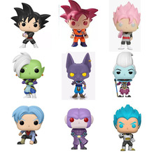 New Arrival Anime Dragon Ball Z Super Saiyan  Beerus Hit Gotenks Doll Action Figures Dragonball Figurine Collection Model Toy 2 style anime dragon ball z super saiyan son gohan action figures cartoon dragonball figurine collection model toy for kids gift