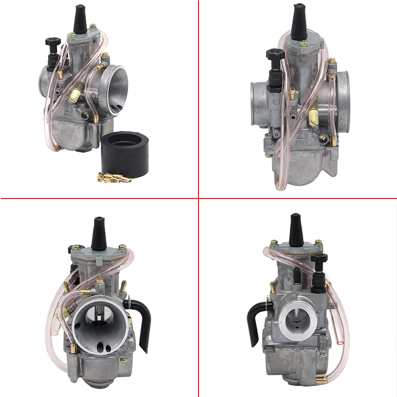 ZS Racing High Quality 21 24 26 28 30 32 34mm 2T PWK Motorcyle Carburetor Carburador Universal 2T Off-Road Scooter ATV UTV