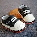 Nuevo 2016 de Primavera Niños Zapatos Suaves de Alta Calidad de Cuero Genuino Bebé Primer Caminante Zapatos de Bebé #2977